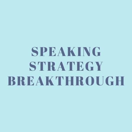 Speaking Strategy Breakthrough Improve Your Public Speaking